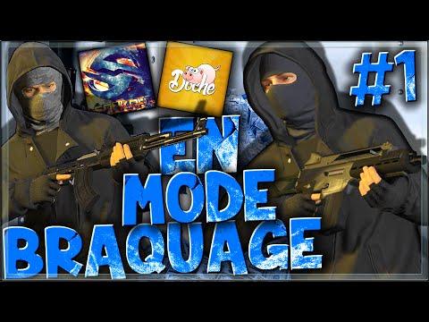 GTA 5 ONLINE : BRAQUAGE #1 - LA FLEECA BANK !
