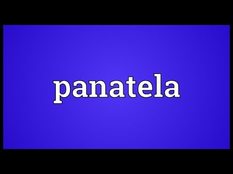 Header of panatela