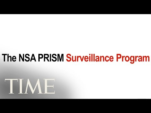 The NSA PRISM Surveillance Program in One Minute