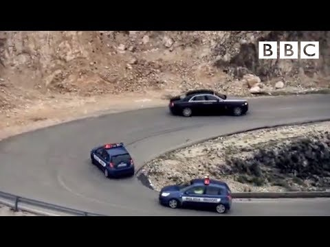 High Speed Albanian Police Chase