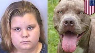 المراهقة التي تناكحت مع كلب بيتبول توضع في السجن مجدداً