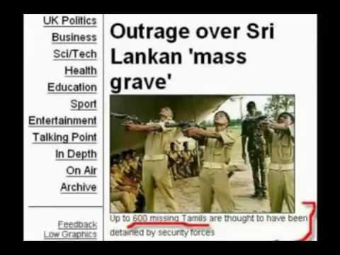 Breaking news: Sri lanka State Terrorism on Tamils