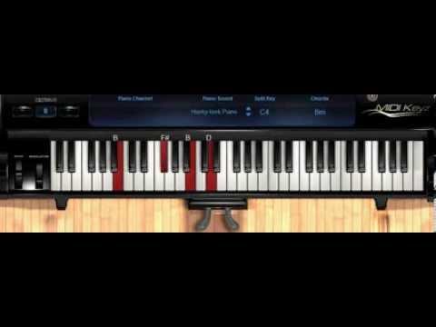 Piano tutorial oceans hillsong