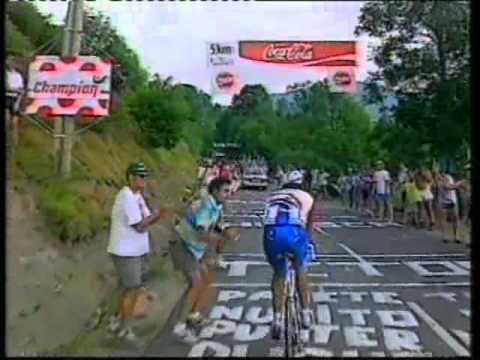 Tour De France 1996 Stage Sixteen Agen-Lourdes-Hautacam.