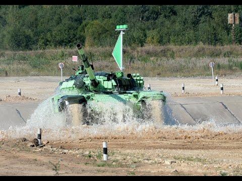 Танковый биатлон-2014: лучшие кадры / Tank Biathlon 2014: the best pictures