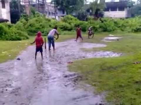 Cricket Match On Raining Day video