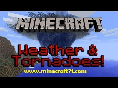 How To Install the Weather and Tornado mod for Minecraft 1.7.2 (Mac) 