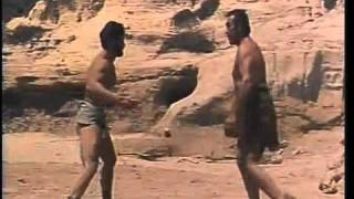 Hercules Unchained Steve Reeves fight scene Anteas