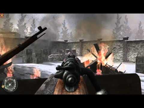 Стрим по стрелялке Call of Duty 2