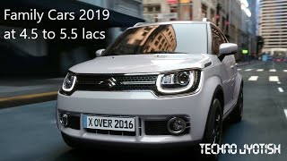 Family cars to buy in india at 4.5 to 5.5 lakhs (Top 5 and best)