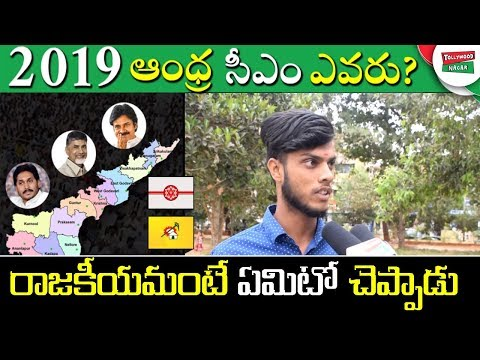 Common Man About Who Will Be the Next CM of Andhra Pradesh | Political News | Tollywood Nagar