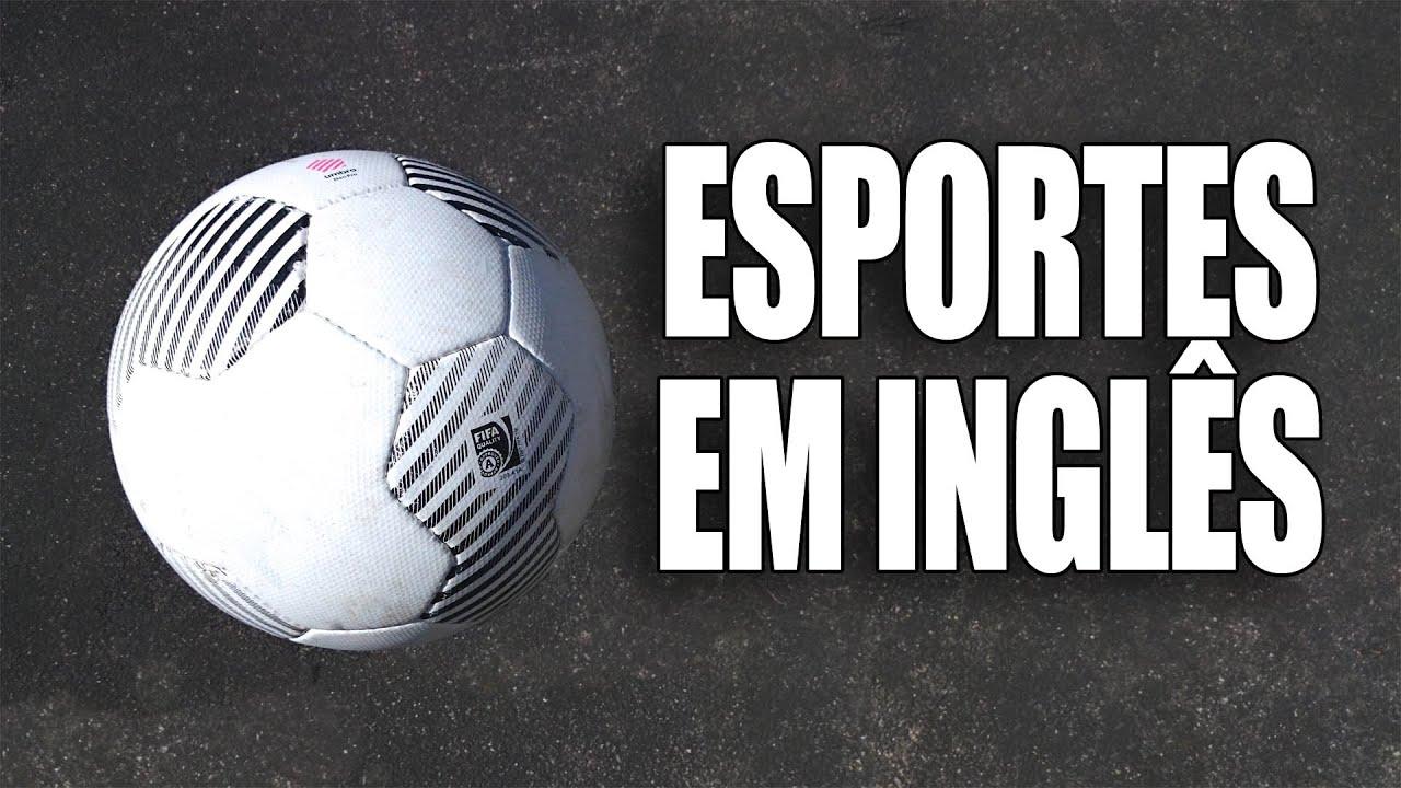 Esportes em inglês com tradução Português  YouTube -> Banheiro Feminino Em Ingles Traducao