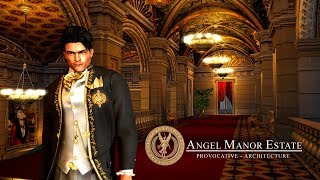 Second Life UHD 4k, Angel Manor Estate Updates Showcase