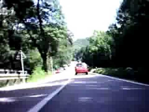 Guzzi California EV - Dolmite villages italy Video