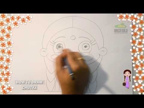 Learn How To Draw Chutki video