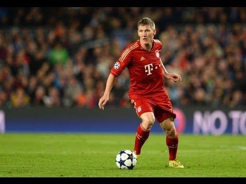 Bastian Schweinsteiger :: Skills / Passes / Goals :: 2013 HD