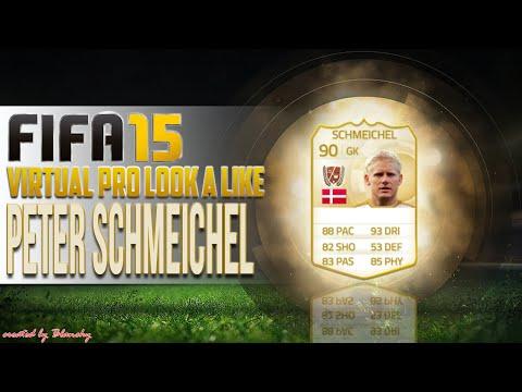 FIFA15 VIRTUAL PRO LOOK A LIKE   PETER SCHMEICHEL