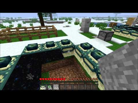 Let's Play Minecraft Ep. 6 - How to make an End Portal/Clay Soldiers Mod Review