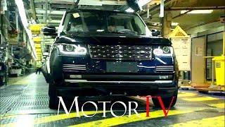 CAR FACTORY : 2018 RANGE ROVER VELAR PRODUCTION l Full Assembly Line l Solihull Plant (UK)
