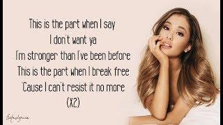 Ariana Grande - Break Free (Lyrics) 🎵 ft. Zedd