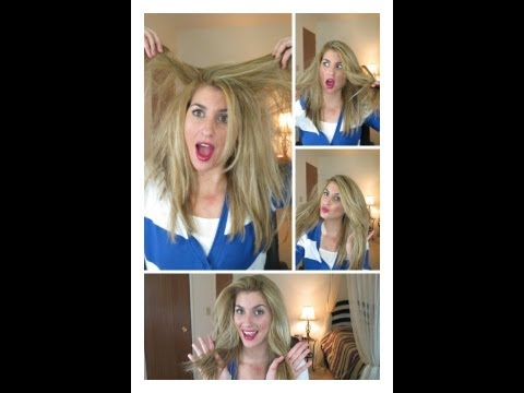 Πώς περιποιούμαι τα μαλλιά μου / My haircare routine
