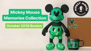 Mickey Mouse Memories Collection | Review #10 October 2018 | Plush, Pins, Mug ShopDisney