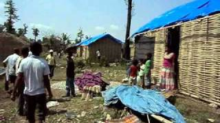 refugees shifted from goldhap camp.wmv