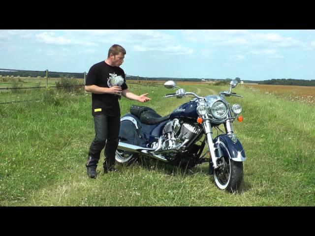 Vid�o Indian Chief Classic : Le custom haut de gamme so chic !