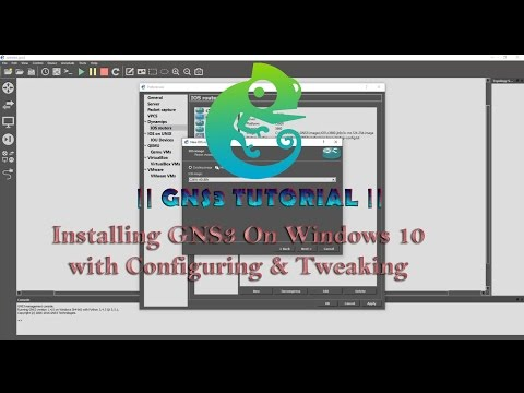 GNS3 Tutorial    Installing GNS3  On Windows 10  with Configuring and Tweaking + link download  HD