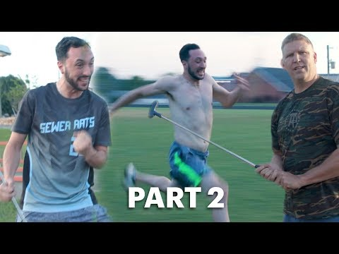 Gamblers Bet On Mini Golf and 40 Yard Dash– Mush/Walker Road Trip Part 2