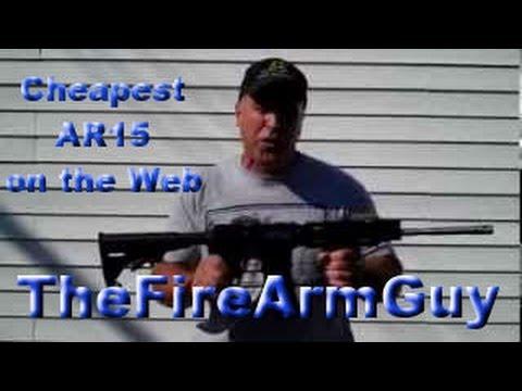 Cheapest AR15 on the Web - TheFireArmGuy