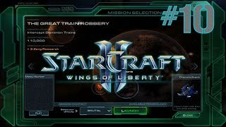 StarCraft II: Wings Of Liberty (Revisited) - The Great Train Robbery - Brutal Difficulty