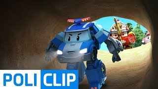 Be careful not to roll!   Robocar Poli Rescue Clips
