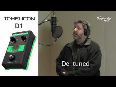 Sweetwater Minute - Vol. 78, TC-Helicon VoiceTone D1 Demo with Mark Hutchins