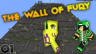 Minecraft Parkour Map - The Wall Of Fury #01 - w/T0n1S74 | ITA