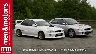 2001 Subaru Impreza WRX vs STi - With Richard Hammond