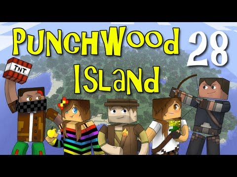 "Punchwood Island E28 ""Oh, Shindig!"" (Minecraft Family Survival)"
