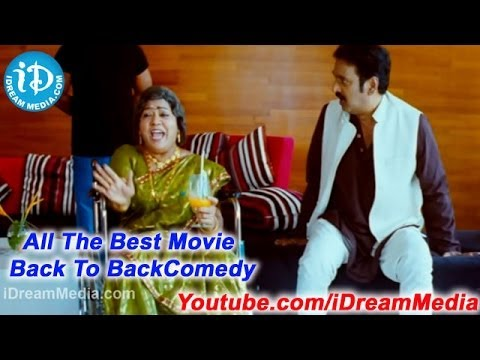 All The Best Movie - Back To Back Comedy Scene - Krishna Bhagavan, Brahmanandam video