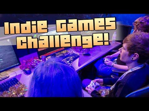INDIE GAMES CHALLENGE w/ SkyDoesMinecraft, Antvenom & AshleyMariee