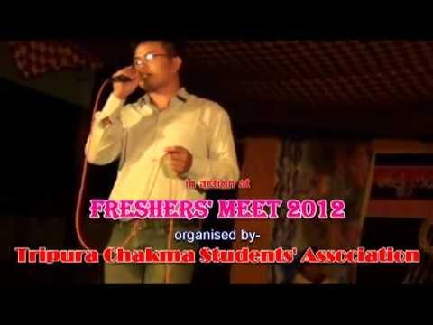Chakma Song Sung By- Abhik.mp4 video