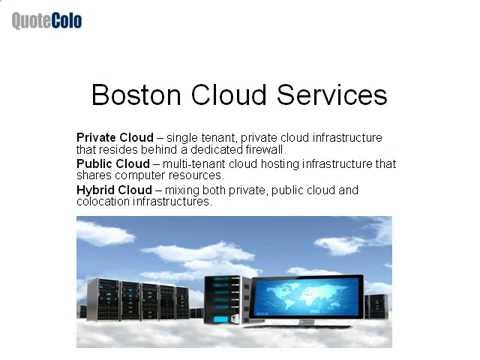 Boston Cloud Computing | Cloud Hosting | Cloud Services