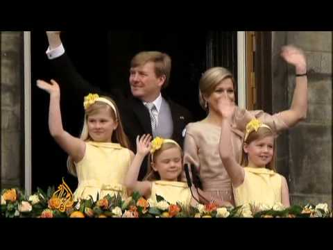 Crown Prince installed as new Dutch king