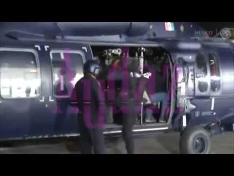 Trasladan a La Tuta en helicóptero de la PF