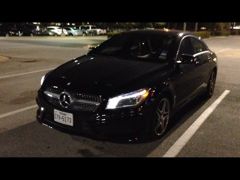 Mercedes Benz Cla Night Review Led Youtube