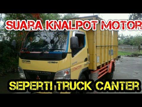 CARA MEMBUAT KNALPOT MOTOR SEPERTI TRUCK CANTER