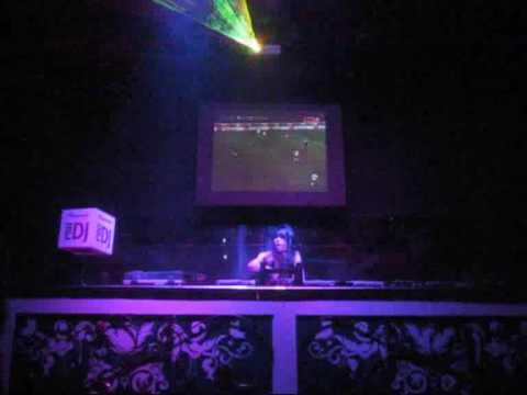 Night club 55 bangkok sexy girl DJ mix and dance