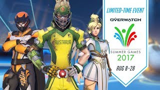 Overwatch Seasonal Event | Summer Games 2017