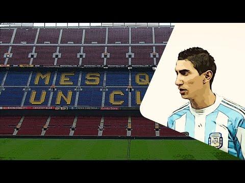 Barcelona and PSG eye £47m Angel Di Maria move