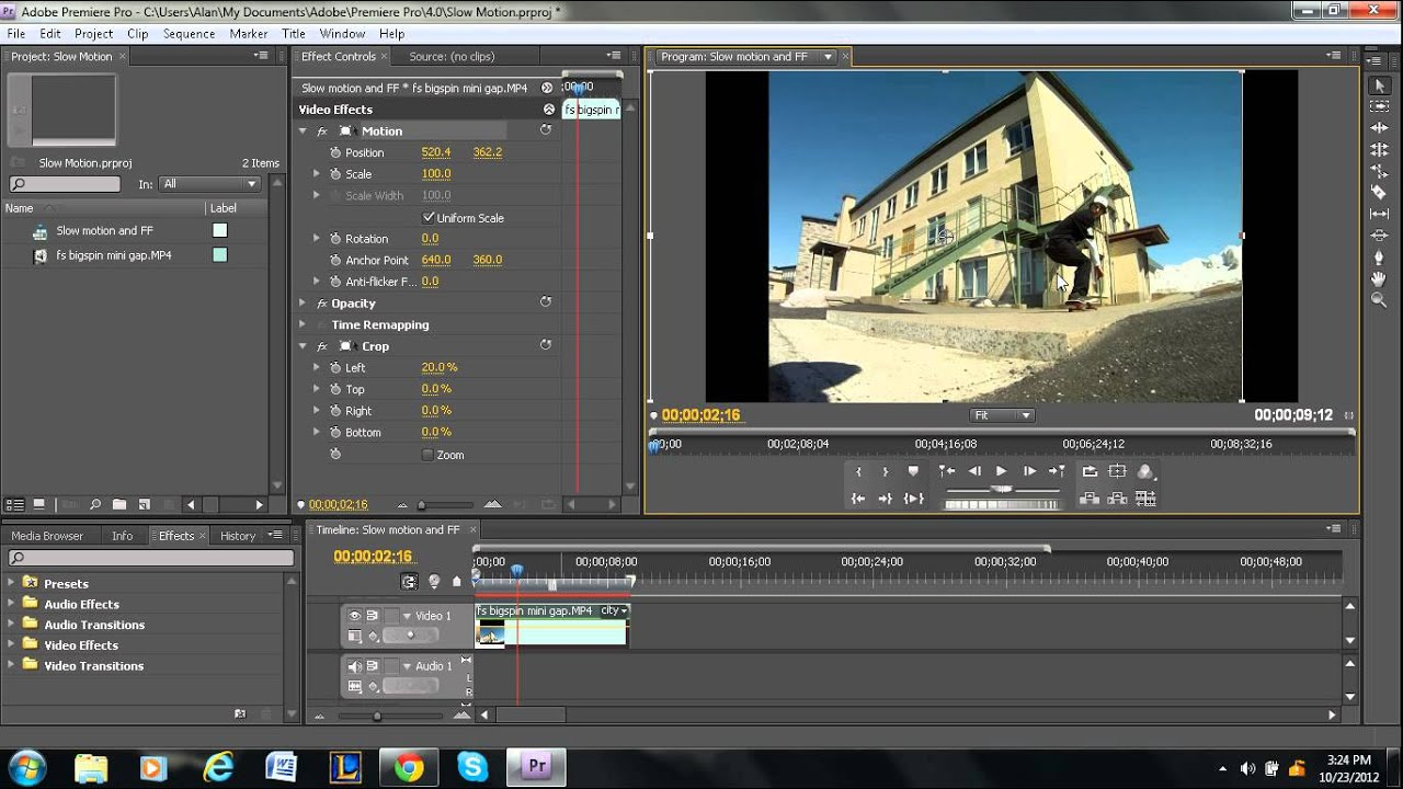How to Crop a Video in Adobe Premiere Pro