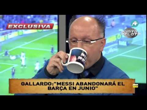 Messi se irá del Barcelona el próximo mes de Junio por problemas con el Barcelona